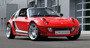 Smart Roadster Brabus V6 Biturbo Limited Header 310x165 Tuning Klassiker: Smart Roadster Brabus V6 Biturbo!
