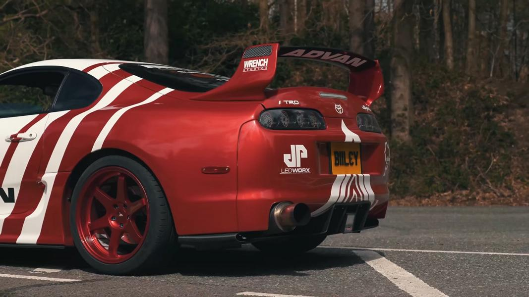 Toyota Supra Mk4 TRD 3000GT JDM Widebody 3 Video: 700 PS Toyota Supra Mk4 TRD 3000GT JDM Widebody!