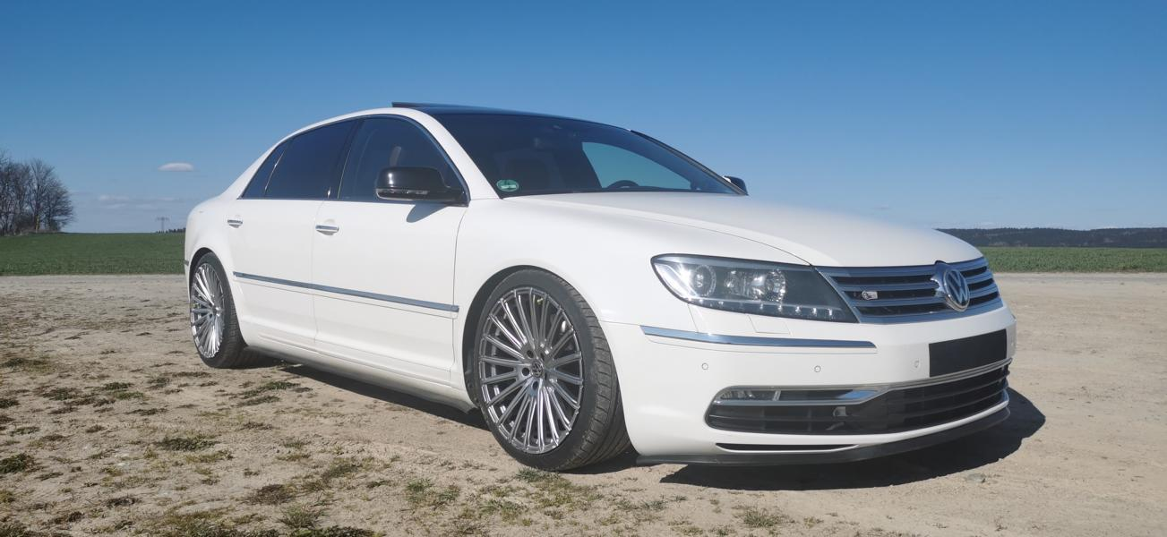 VW Phaeton 3.0 TDI GP3 Tuning RH WM102 4 VW Phaeton 3.0 TDI (GP3) on 20 inch RH WM102 rims!