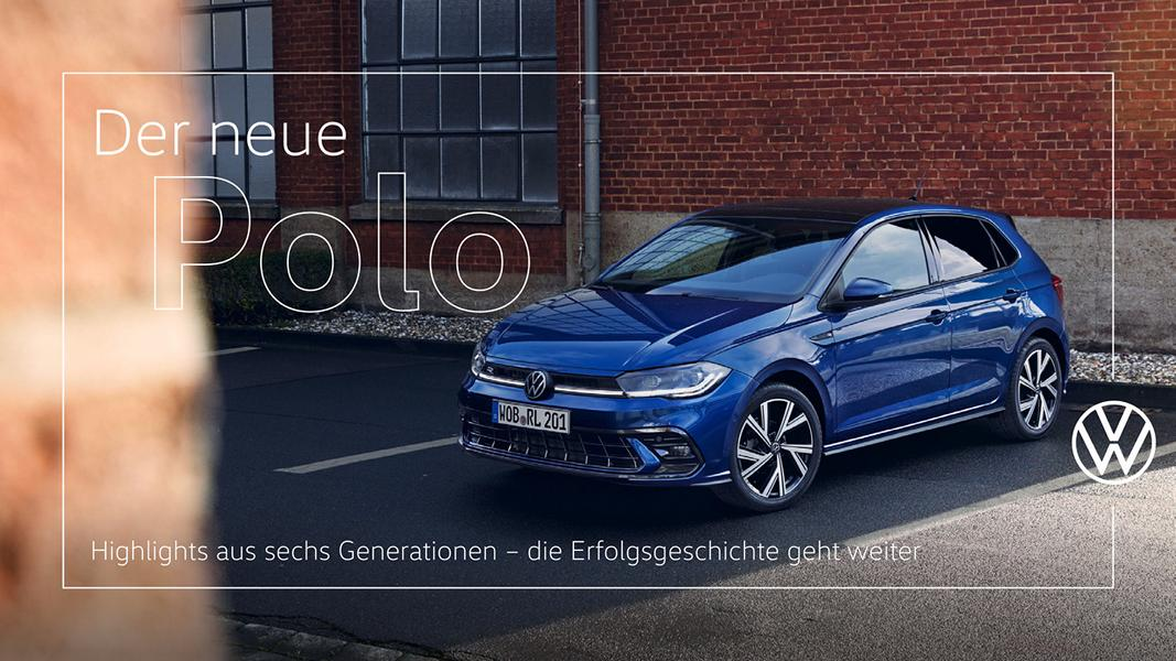 VW Polo Facelift 2021 with R Line 1 VW Polo Facelift 2021 with R Line or Style equipment!