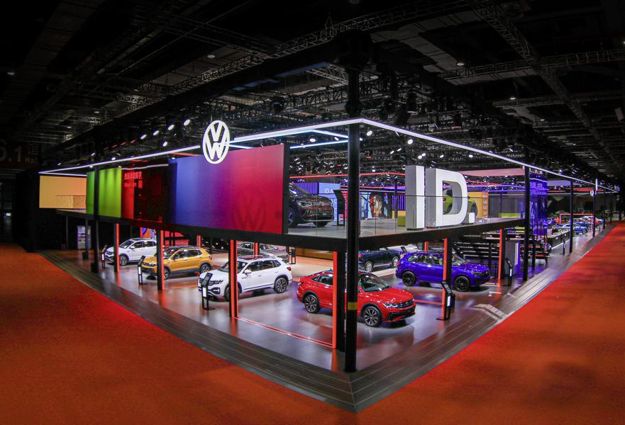 VW Volkswagen Shanghai 4 VW: 6 new vehicles + 3 world premieres in Shanghai!