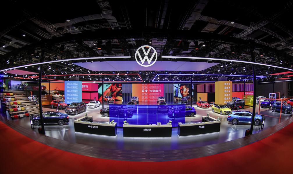 VW Volkswagen Shanghai 6 VW: 6 new vehicles + 3 world premieres in Shanghai!