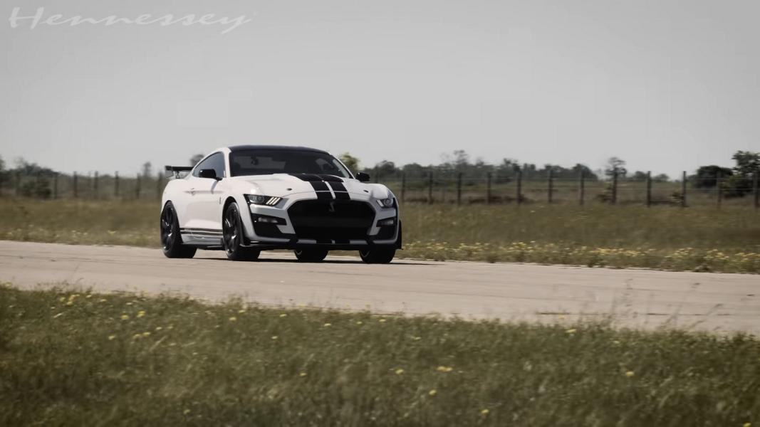 1000 HP Mustang GT500    VENOM 1000 by Hennessey Ford 1 Video: Ford Mustang Shelby GT500 als Venom 1000!