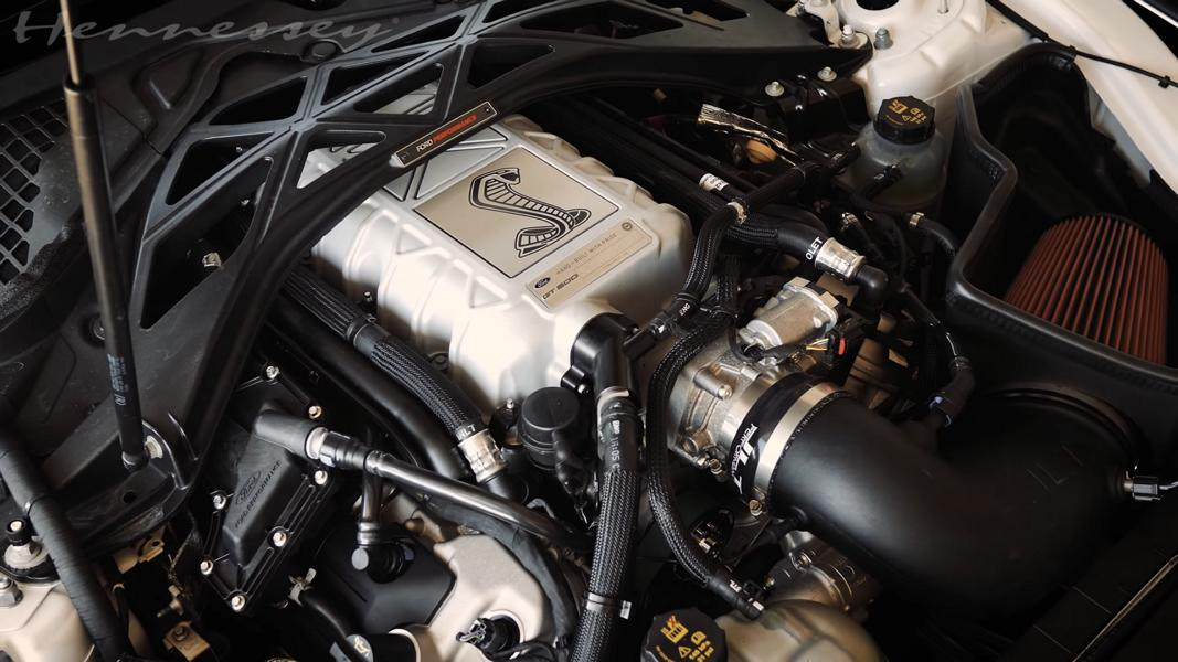 1000 HP Mustang GT500    VENOM 1000 by Hennessey Ford 5 Video: Ford Mustang Shelby GT500 als Venom 1000!