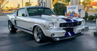 1966er Ford Mustang Coyote Power Restomod 310x165 1966er Ford Mustang mit Coyote Power als Restomod!