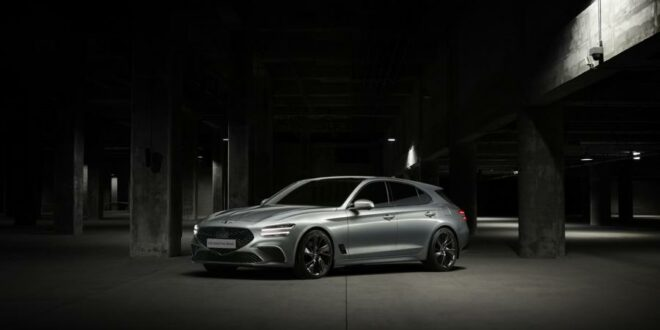 Weltpremiere des 2021 Genesis G70 Shooting Brake!