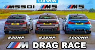 BMW M5 F90 vs. M550i vs. M5 Competition 310x165 Video: 1.000 PS BMW M5 F90 vs. M550i vs. M5 Competition!