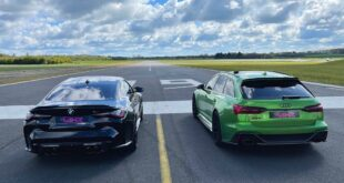 Drag Race BMW M4 Competition vs. Audi RS6 310x165 Video: Drag Race BMW M4 Competition vs. Audi RS6!
