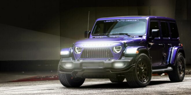 Wildes GRID Agressor-Widebody-Kit am Jeep Wrangler JL!
