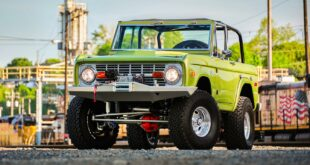 Restomod Ford Bronco Tuning Header 310x165 Restomod Ford Bronco aus 1973 mit Offroad Setup!