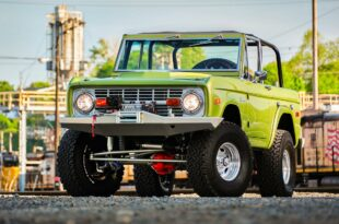 Restomod Ford Bronco Tuning Header 310x205 Restomod Ford Bronco aus 1973 mit Offroad Setup!