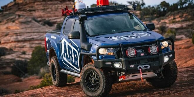"""The Lone Ranger"": ARB 4×4 Accessories am Ford Ranger!"
