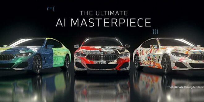 """The Ultimate AI Masterpiece"": BMW 8er als Kunstwerk!"