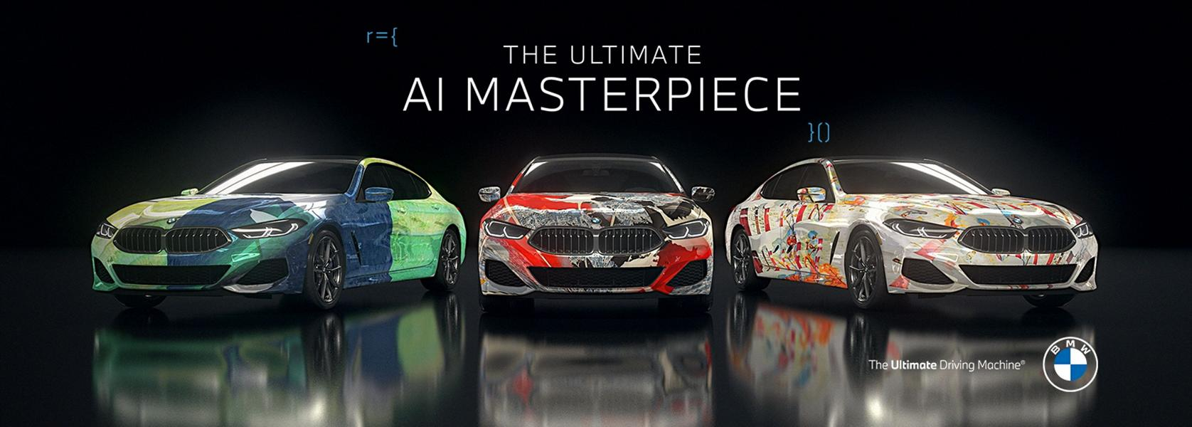 """The Ultimate AI Masterpiece BMW 8er 1 """"The Ultimate AI Masterpiece"""": BMW 8er als Kunstwerk!"""