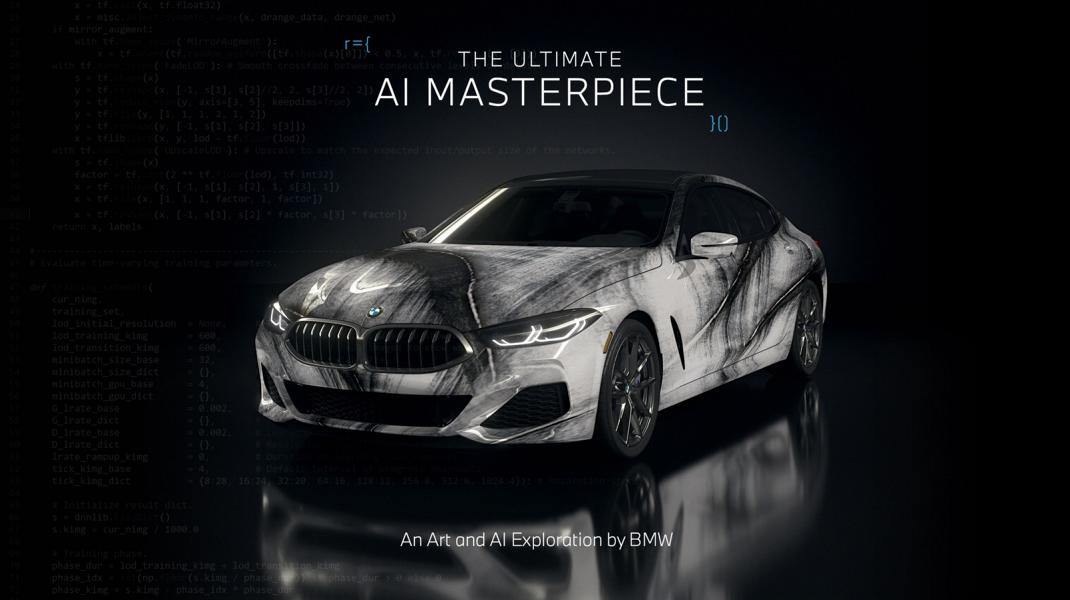 """The Ultimate AI Masterpiece BMW 8er 10 """"The Ultimate AI Masterpiece"""": BMW 8er als Kunstwerk!"""