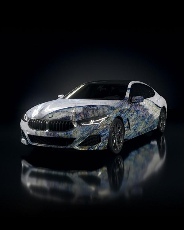 """The Ultimate AI Masterpiece BMW 8er 12 """"The Ultimate AI Masterpiece"""": BMW 8er als Kunstwerk!"""