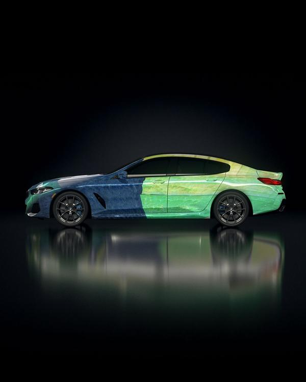 """The Ultimate AI Masterpiece BMW 8er 17 """"The Ultimate AI Masterpiece"""": BMW 8er als Kunstwerk!"""
