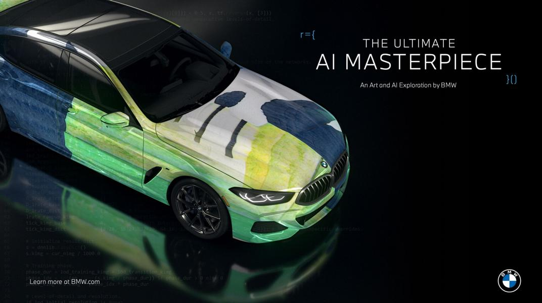 """The Ultimate AI Masterpiece BMW 8er 19 """"The Ultimate AI Masterpiece"""": BMW 8er als Kunstwerk!"""