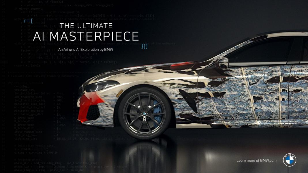 """The Ultimate AI Masterpiece BMW 8er 26 """"The Ultimate AI Masterpiece"""": BMW 8er als Kunstwerk!"""