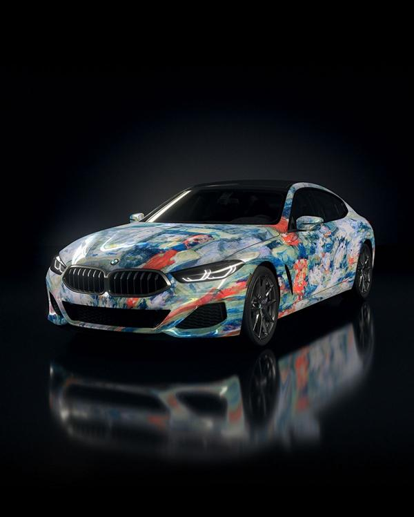 """The Ultimate AI Masterpiece BMW 8er 30 """"The Ultimate AI Masterpiece"""": BMW 8er als Kunstwerk!"""