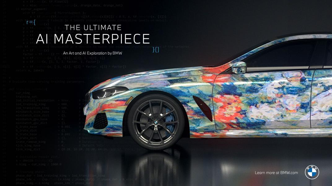 """The Ultimate AI Masterpiece BMW 8er 32 """"The Ultimate AI Masterpiece"""": BMW 8er als Kunstwerk!"""