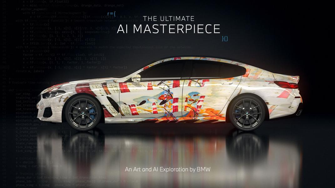 """The Ultimate AI Masterpiece BMW 8er 38 """"The Ultimate AI Masterpiece"""": BMW 8er als Kunstwerk!"""