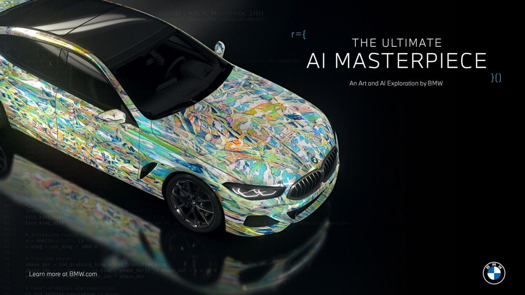 """The Ultimate AI Masterpiece BMW 8er 6 """"The Ultimate AI Masterpiece"""": BMW 8er als Kunstwerk!"""