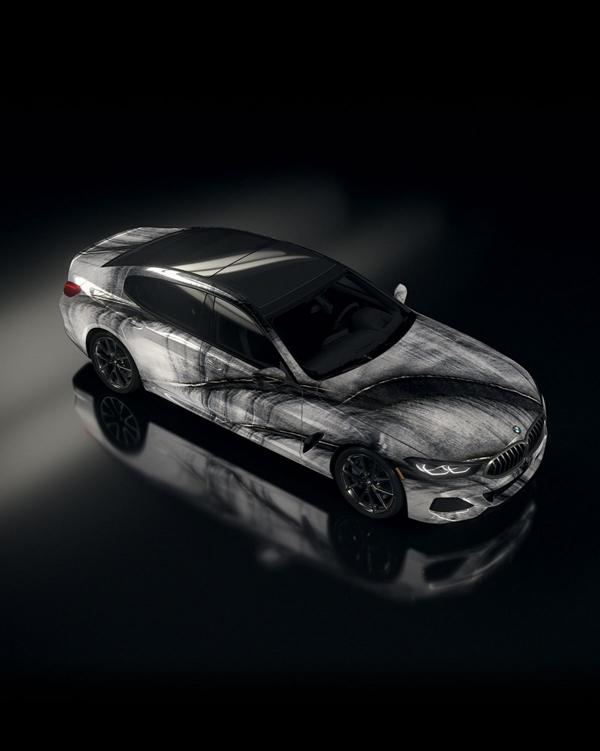 """The Ultimate AI Masterpiece BMW 8er 7 """"The Ultimate AI Masterpiece"""": BMW 8er als Kunstwerk!"""