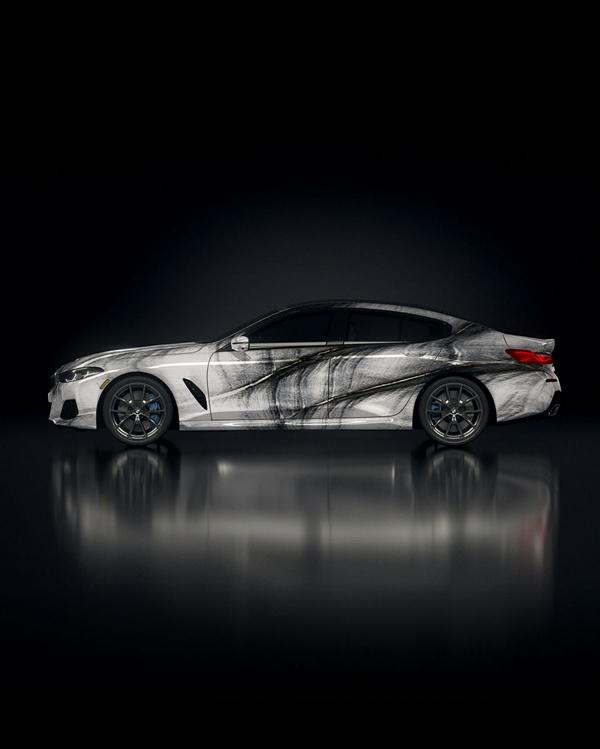 """The Ultimate AI Masterpiece BMW 8er 9 """"The Ultimate AI Masterpiece"""": BMW 8er als Kunstwerk!"""