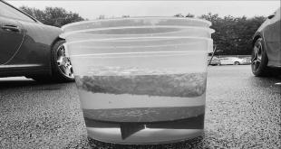 Autowaesche klares Wasser Eimer 1