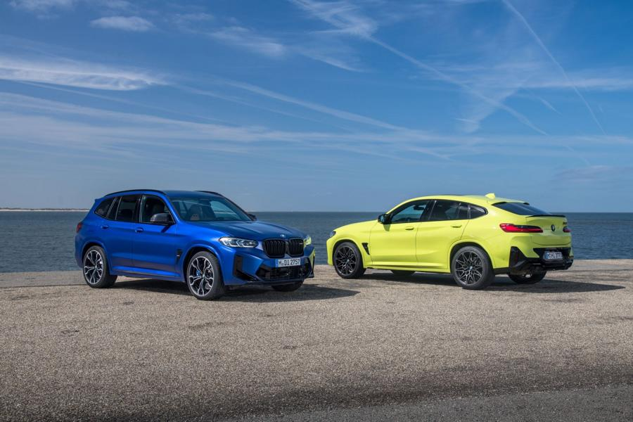 BMW X3M X4M F97 F98 Competition 2021 1 650 NM & 510 PS im neuen BMW X3 M / X4 M Competition