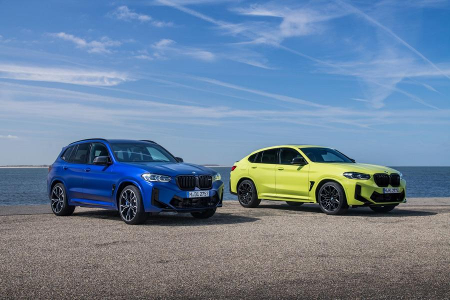 BMW X3M X4M F97 F98 Competition 2021 2 650 NM & 510 PS im neuen BMW X3 M / X4 M Competition