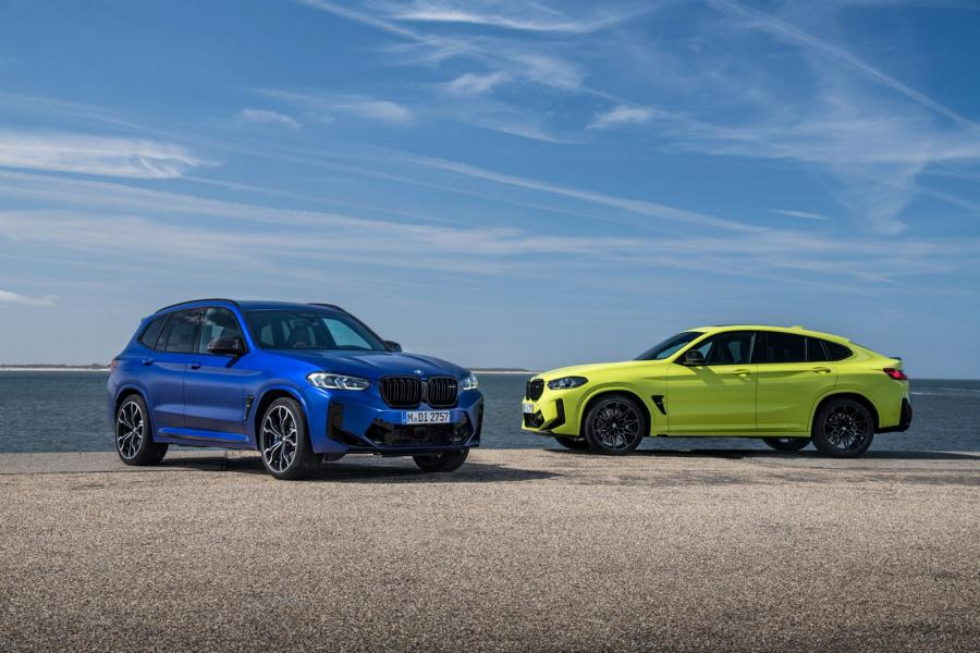 BMW X3M X4M F97 F98 Competition 2021 3 650 NM & 510 PS im neuen BMW X3 M / X4 M Competition