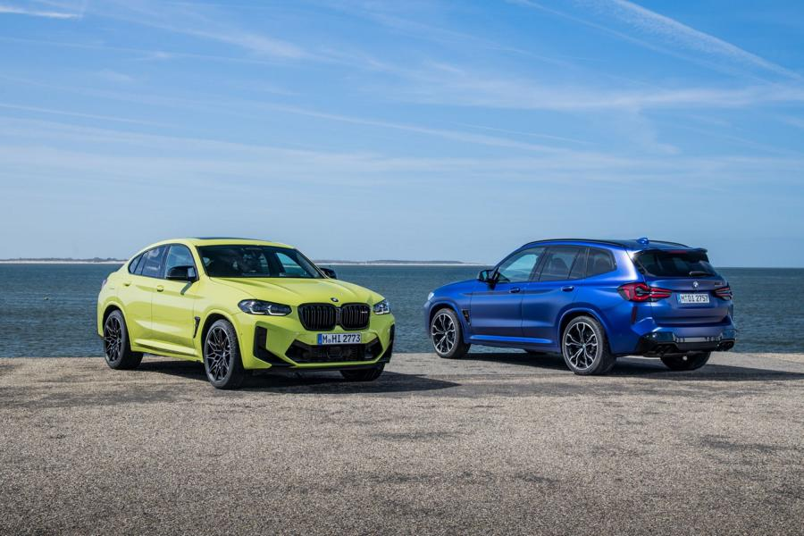 BMW X3M X4M F97 F98 Competition 2021 5 650 NM & 510 PS im neuen BMW X3 M / X4 M Competition