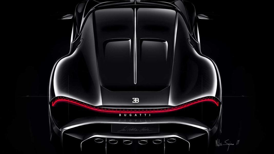 Bugatti La Voiture Noire Tuning 16 Bugatti La Voiture Noire – Von einer Vision zur Realität
