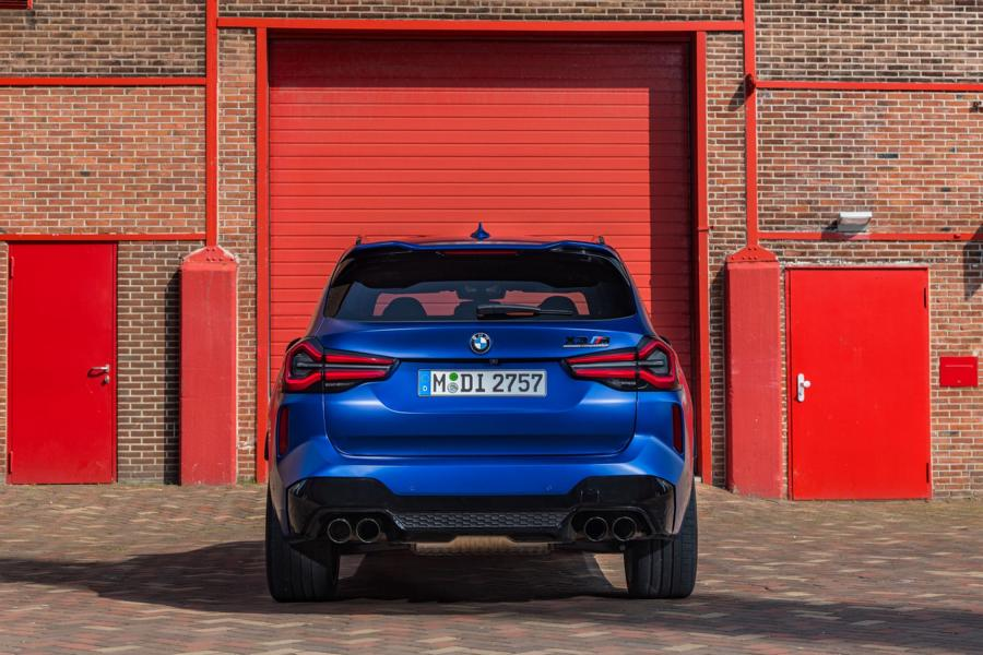 F97 BMW X3 M Competition 2021 49 650 NM & 510 PS im neuen BMW X3 M / X4 M Competition