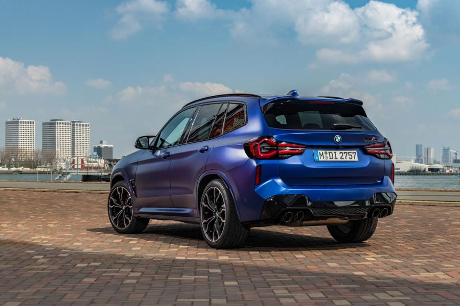 F97 BMW X3 M Competition 2021 50 650 NM & 510 PS im neuen BMW X3 M / X4 M Competition