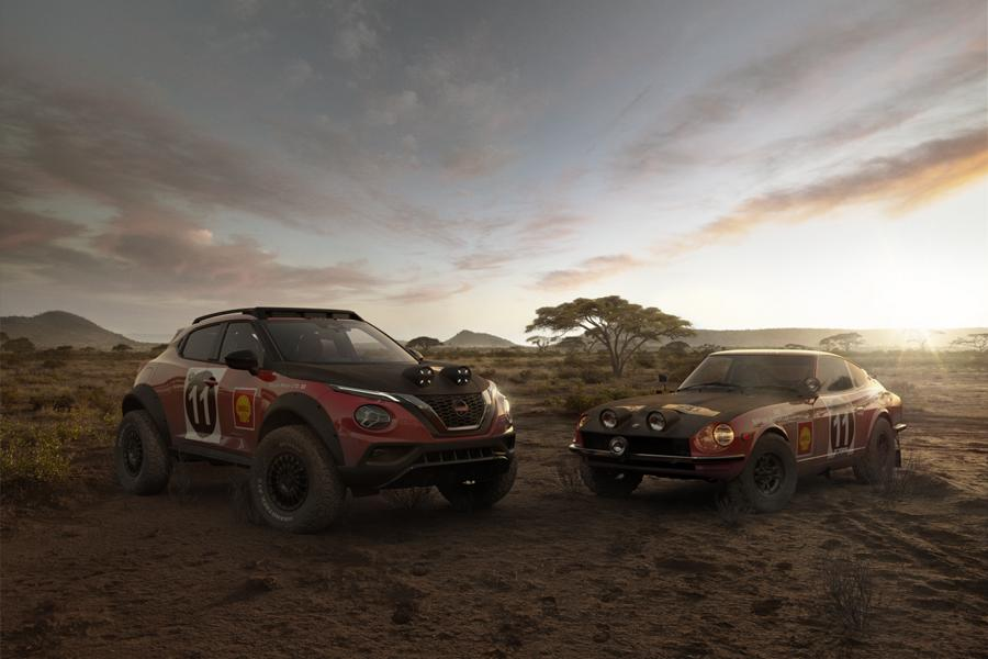 JUKE Rally Heritage Concept 5 Hommage an den 240Z: Nissan Juke Rally Tribute Concept!