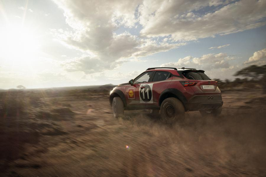 JUKE Rally Heritage Concept 6 Hommage an den 240Z: Nissan Juke Rally Tribute Concept!