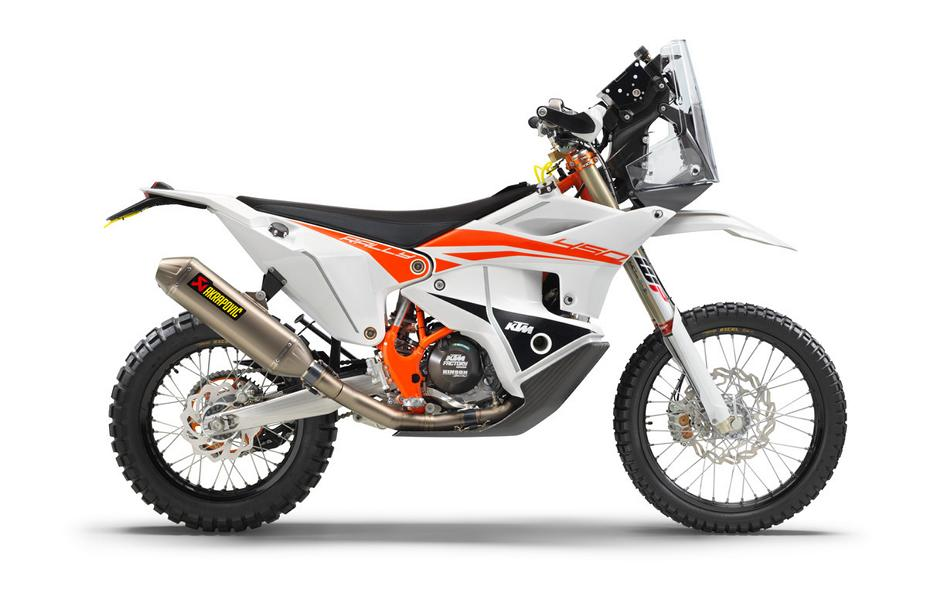 KTM 450 RALLY FACTORY REPLICA right MY22 Streng limitiert: KTM 450 Rally Factory Replica (2022)!