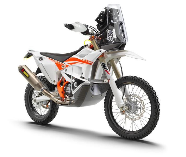 KTM 450 RALLY FACTORY REPLICA right front MY22 Streng limitiert: KTM 450 Rally Factory Replica (2022)!