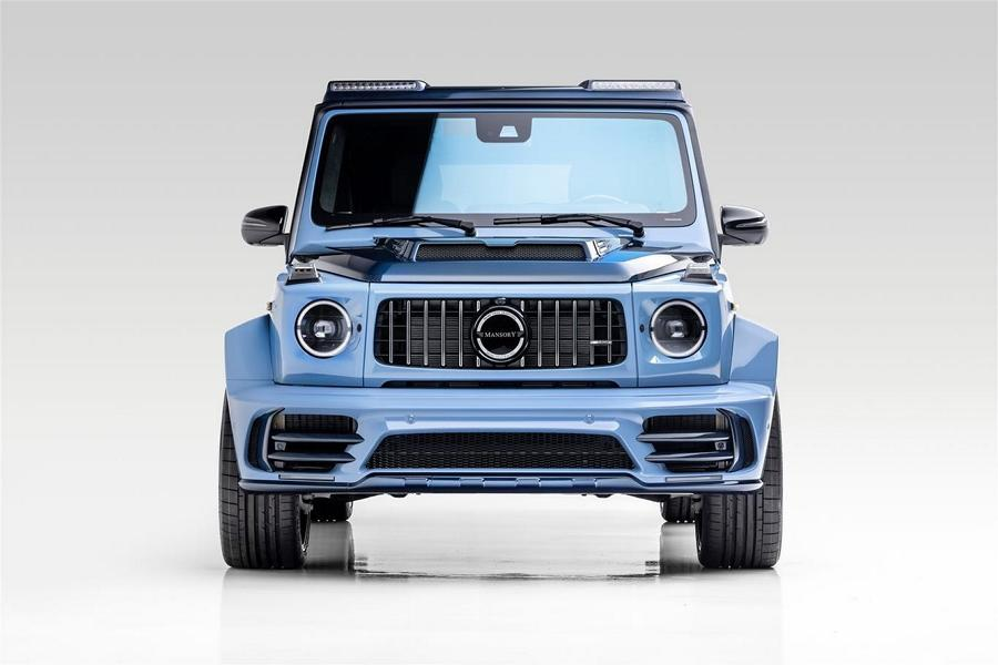Mercedes AMG G63 Gronos by Mansory W463A Widebody 18 Sonnengelber Mercedes AMG G63 Gronos by Mansory!