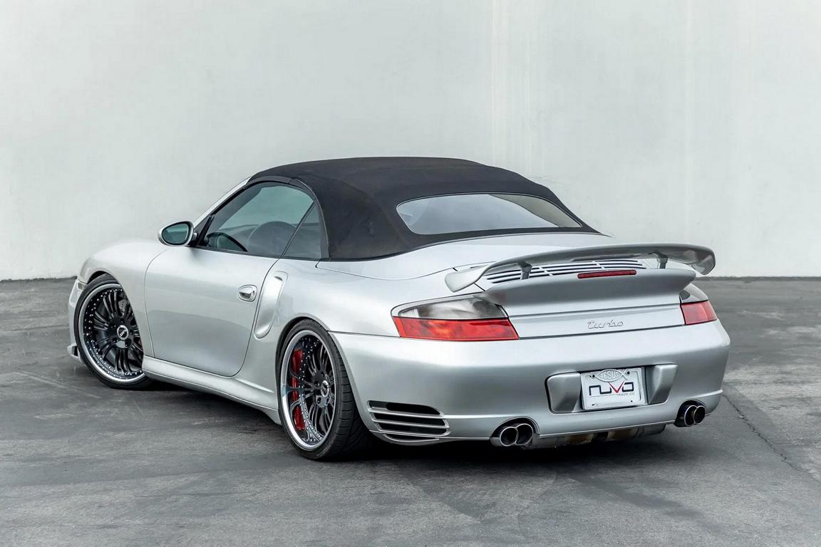 Need for Speed Porsche 996 Turbo Cabriolet Tuning 15 Need for Speed Optik am Porsche 996 Turbo Cabriolet!