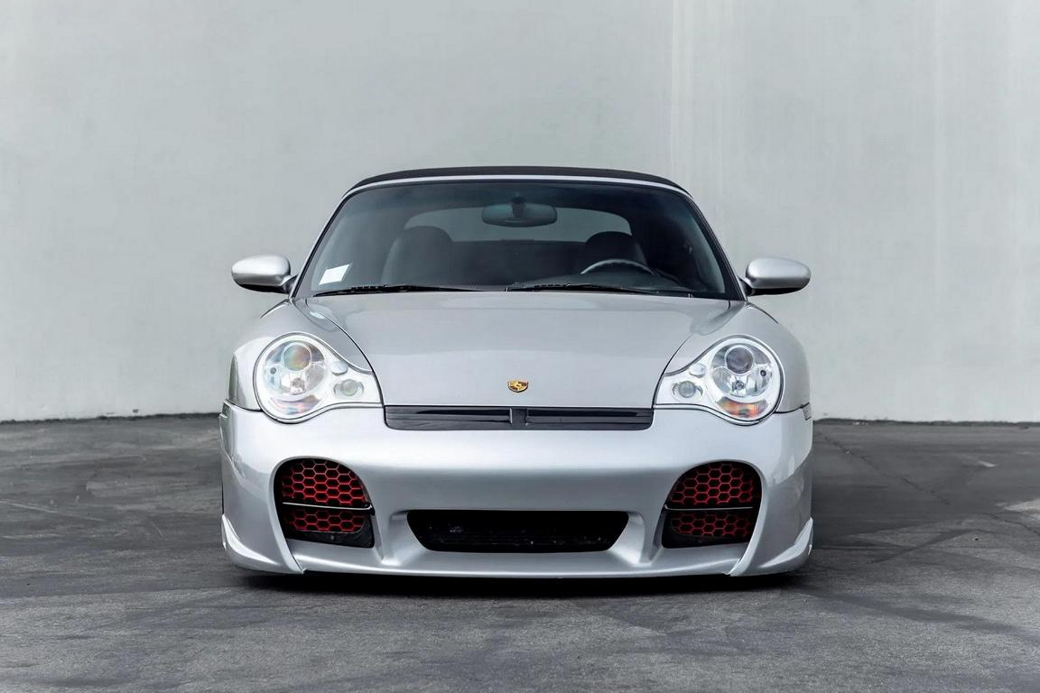 Need for Speed Porsche 996 Turbo Cabriolet Tuning 21 Need for Speed Optik am Porsche 996 Turbo Cabriolet!