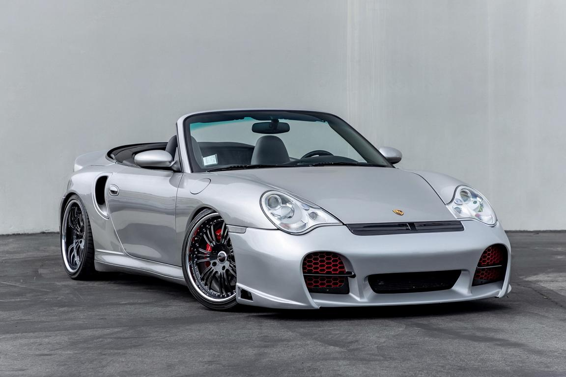 Need for Speed Porsche 996 Turbo Cabriolet Tuning 25 Need for Speed Optik am Porsche 996 Turbo Cabriolet!