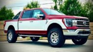 Oldschool Style Retro 2021 Ford F 150 Pickup BRP Tuning 2 190x107 Oldschool Style am 2021 Ford F 150 Pickup von BRP!
