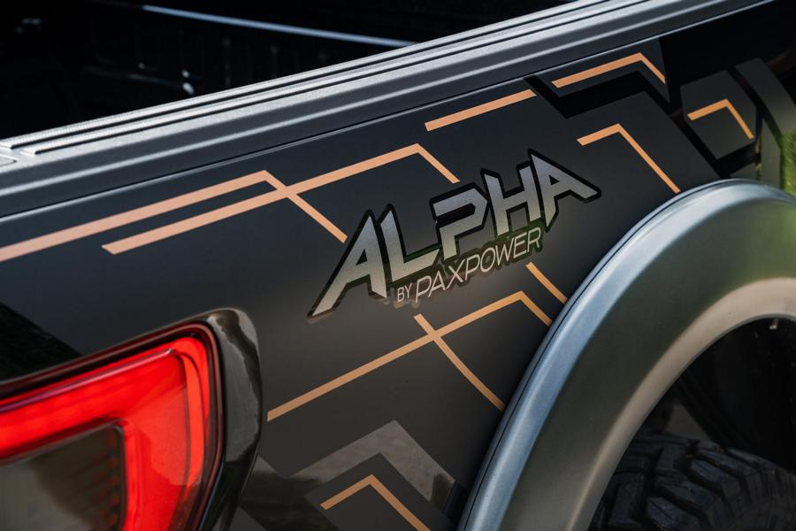 PaxPower 2021 Ford F 150 Pickup Alpha Tuning 20 PaxPower 2021 Ford F 150 Pickup kommt mit 770 PS!