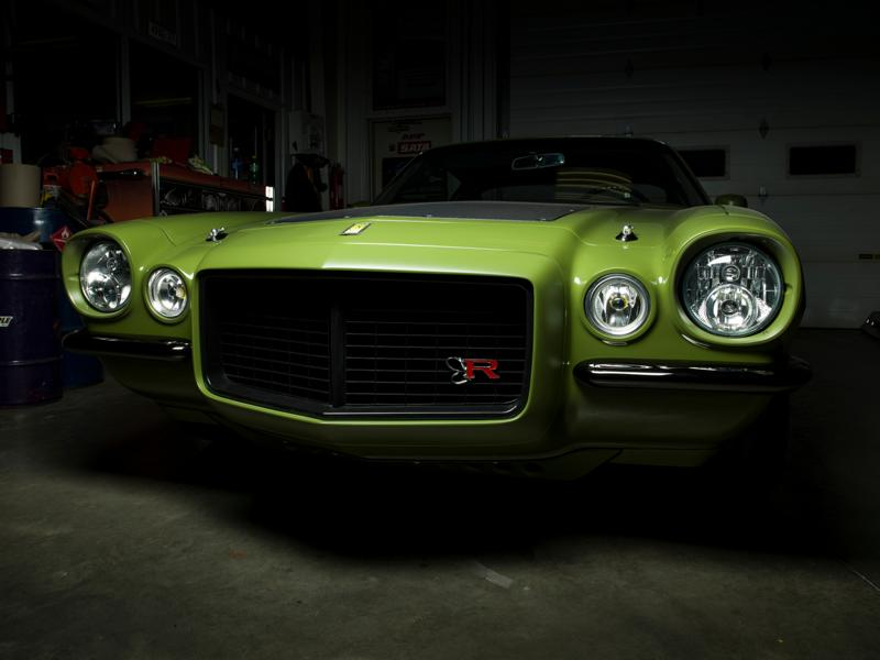 The Grinch 1970 Chevrolet Camaro Ringbrothers Restomod Tuning 4 The Grinch: 1970 Chevrolet Camaro von den Ringbrothers!