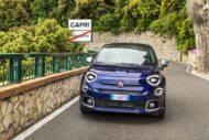 03 500X Yachting 190x127 Fiat 500X YACHTING als Open Air Version mit Soft Top