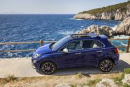05 500X Yachting 190x127 Fiat 500X YACHTING als Open Air Version mit Soft Top